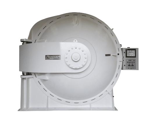 round autoclave
