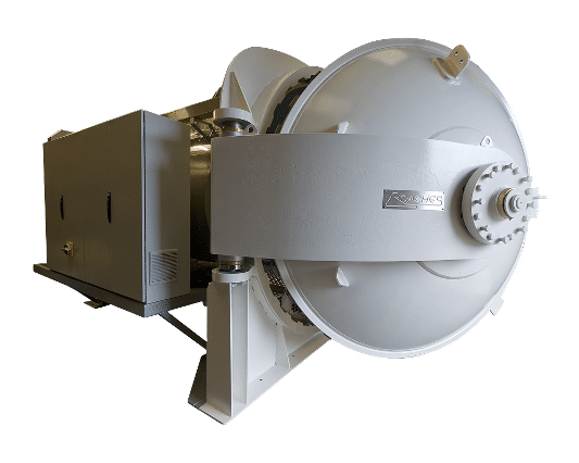 autoclave side view