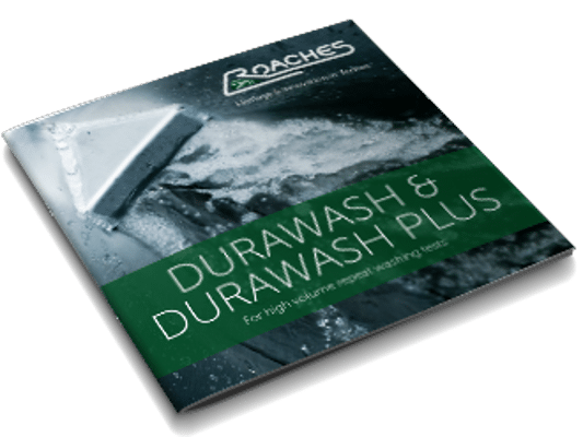 durawash repeat washing tester brochure